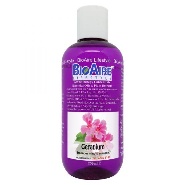 water based geranium essential oil