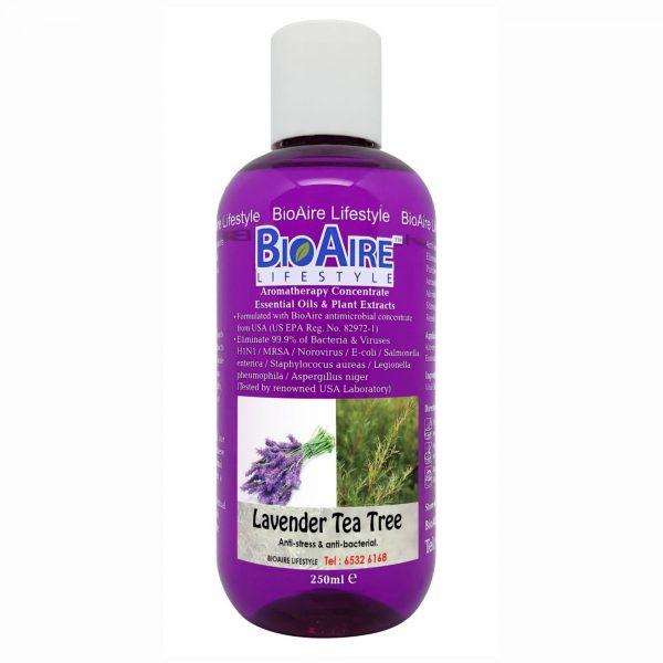 water based lavender tea tree essential oil