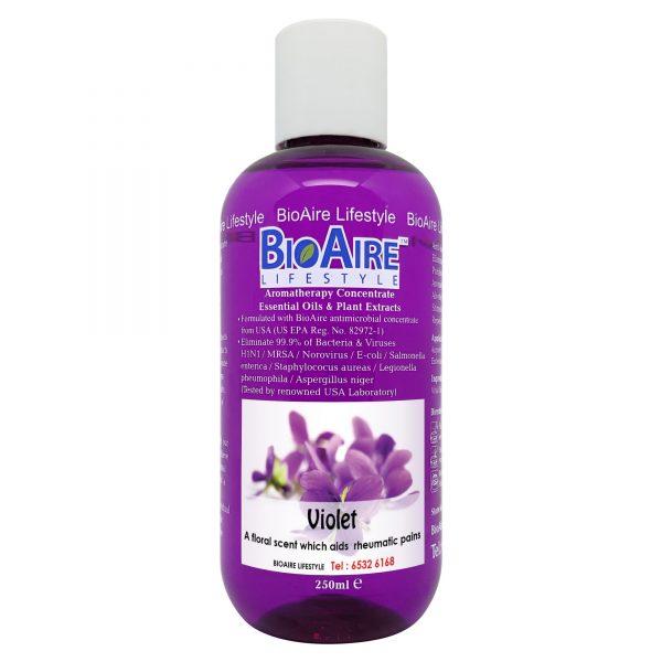 water based violet essential oil